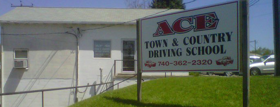 Ace Driving Sign